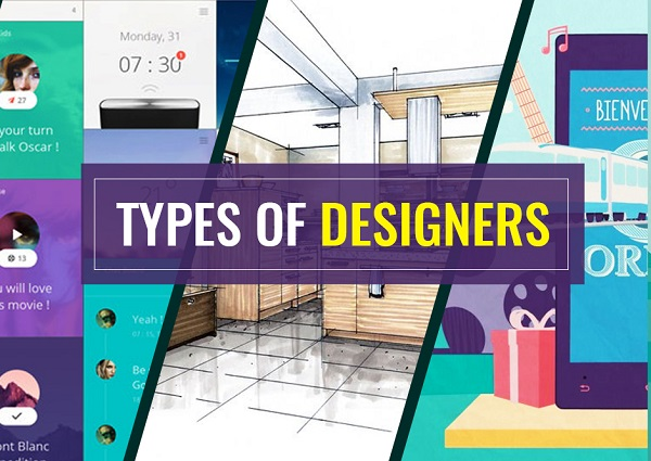 An Image SHowing The Text Of Types of Designers.